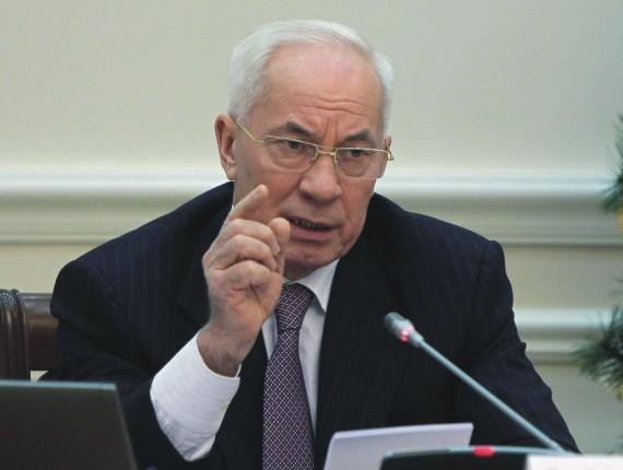 Na snímke bývalý ukrajinský premiér Mykola Azarov