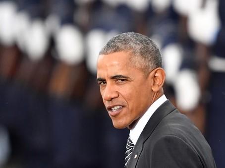 Na snímke dosluhujúci americký prezident Barack Obama