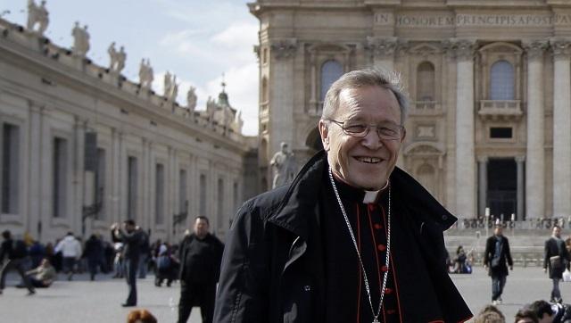 Nemecký kardinál  a prezident Pápežskej rady pre podporu jednoty kresťanov Walter Kasper