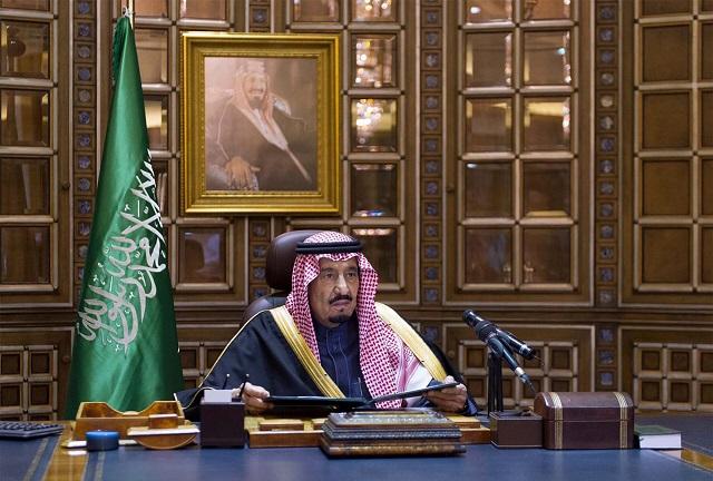 Saudskoarabský kráľ Salmán