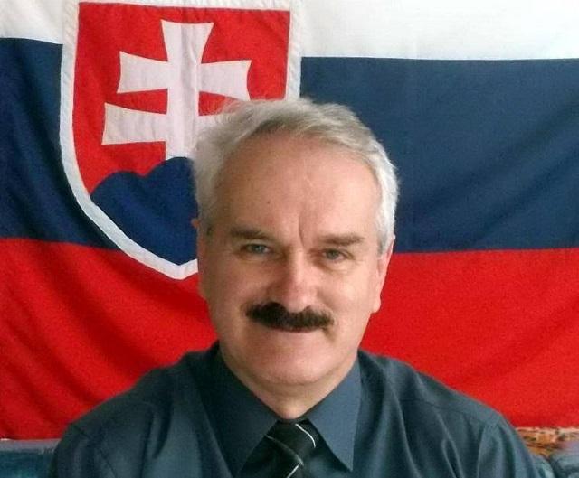 Na snímke František Bednár