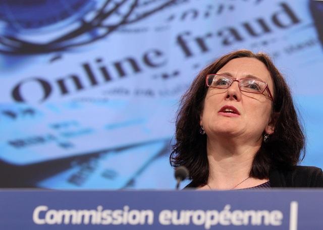 Komisárka EÚ pre vnútorné záležitosti Cecilia Malmströmová