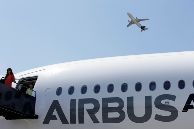 Na ilustračnej snímke lietadlo Airbus A350 XWB
