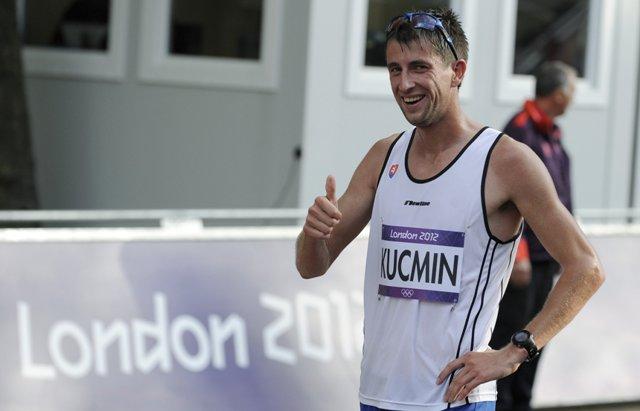 Na snímke slovenský reprezentant v chôdzi Anton Kučmín
