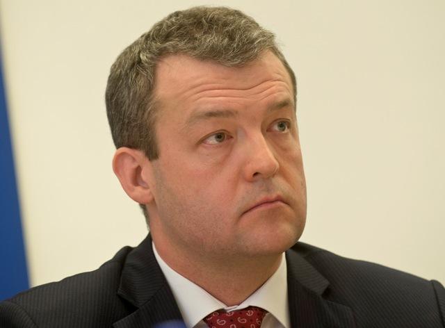 Na snímke predseda Trenčianskeho samosprávneho kraja Jaroslav Baška