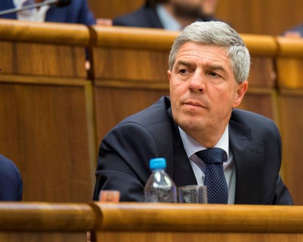 Na snímke podpredseda Národnej rady SR Béla Bugár (Most-Híd)