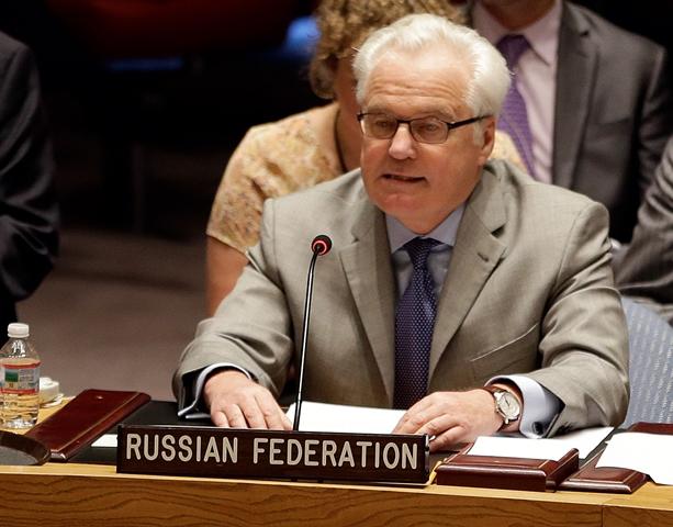 Na archívnej snímke  ruský diplomat Vitalij Čurkin