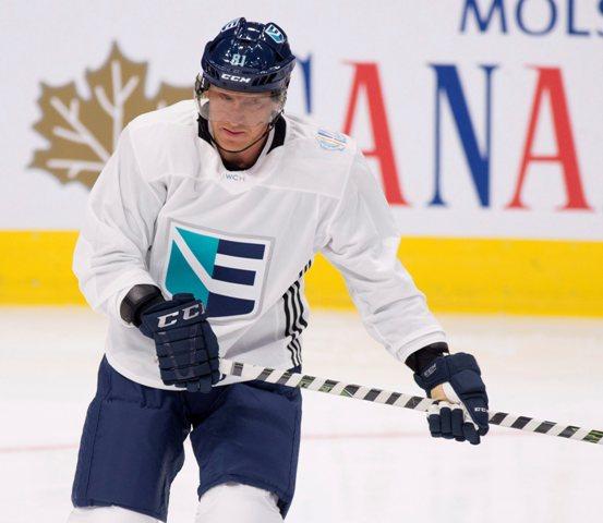 Na snímke slovenský hokejista Marián Hossa