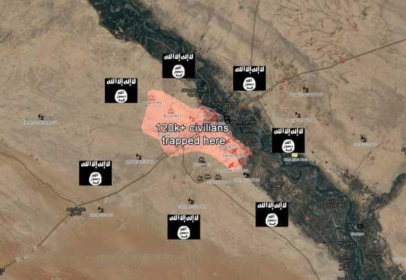 Sýrskemu Deir-ez-Zor hrozí veľké nebezpečenstvo, ISIS útočí voči pozíciam sýrskej armády