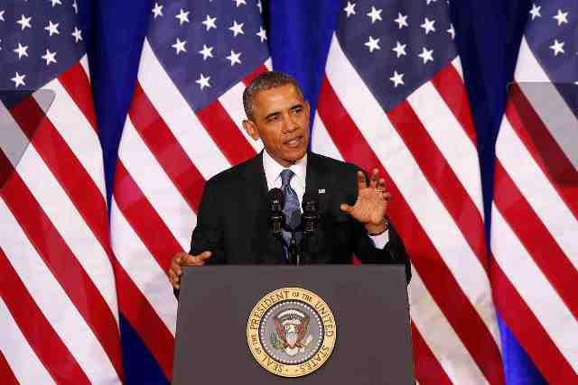 Na snímke Barack Obama Foto:Charles Dharapak