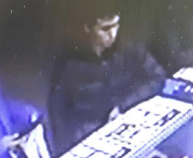 Na videosnímke je muž, ktorého polícia identifikovala ako útočníka v nočnom klube v tureckom Istanbule počas noci pred útokom 31. decembra 2016