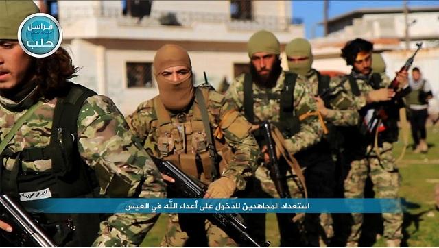 Na archívnej snímke bojovníci Front an-Nusra, čo je sýrska odnož al-Káidy
