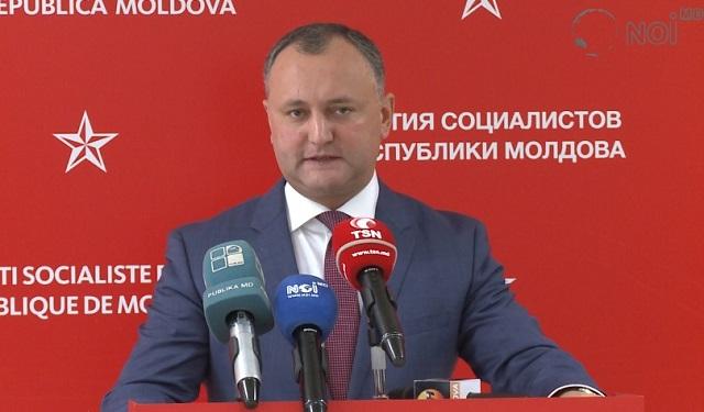 Nový prorusky orientovaný moldavský prezident Igor Dodon