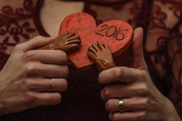 Na snímke ocenenie Srdce na dlani