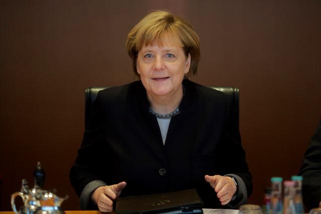 Na snímke kancelárka Angela Merkelová
