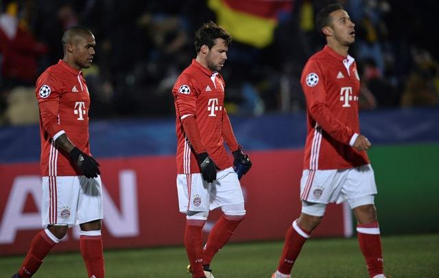 Na snímke hráči Bayernu Mníchov