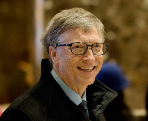 Na snímke Bill Gates