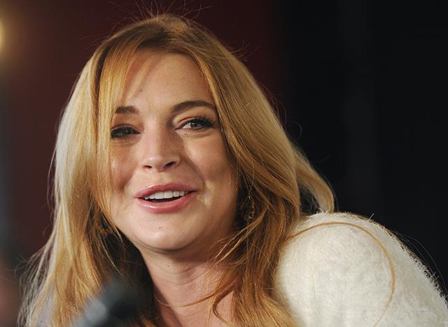 Na snímke herečka a speváčka Lindsay Lohanová.