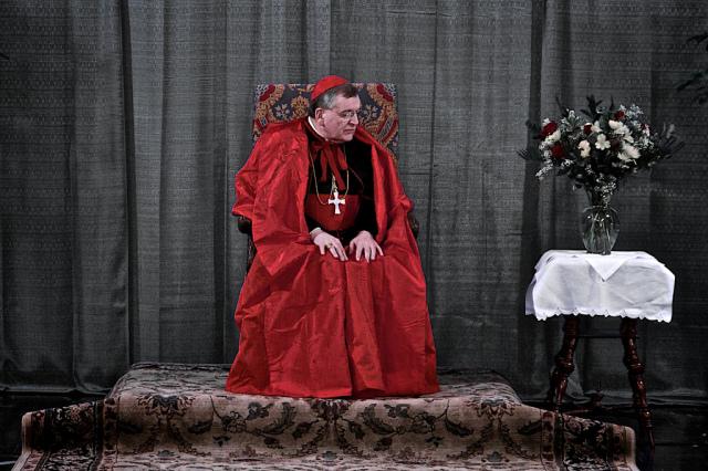 Na snímke kardinál Raymond Leo Burke. Foto: Phil Roussin