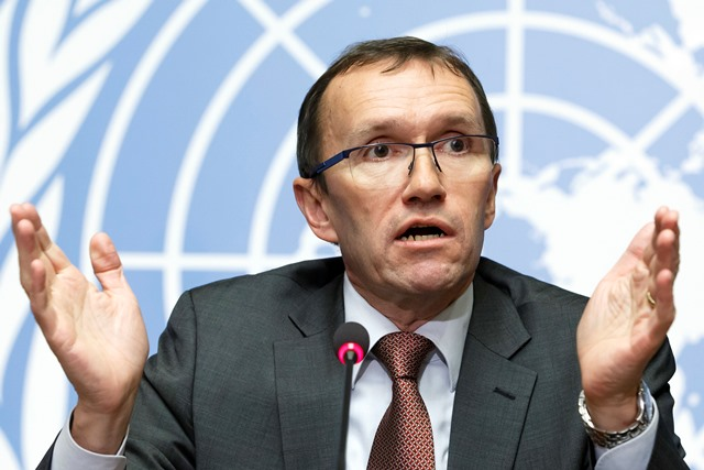 Špeciálny vyslanec OSN Espen Barth Eide