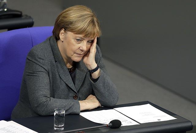 Nemecká kancelárka Angela