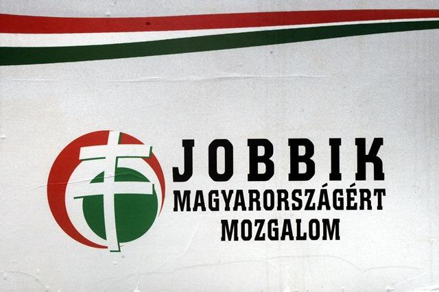 Na snímke volebný bilbord strany Jobbik