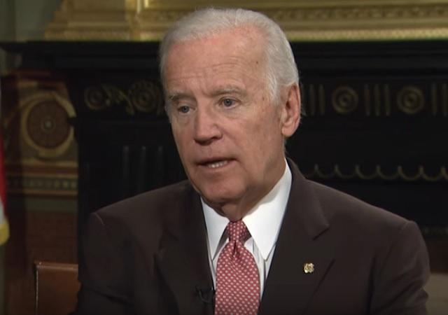 Na snímke Jo Biden