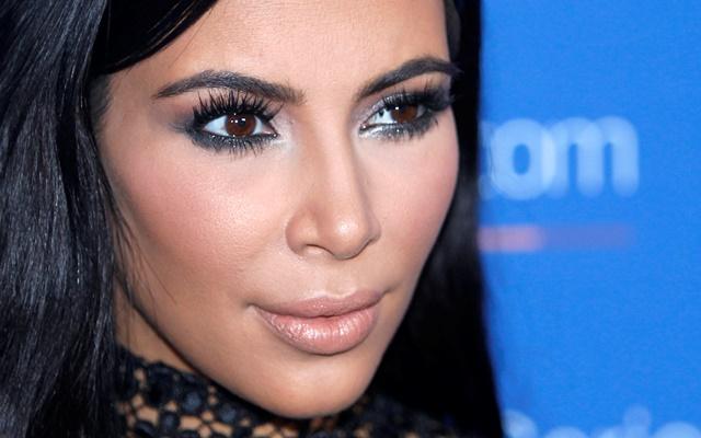 Na snímke Kim Kardashian