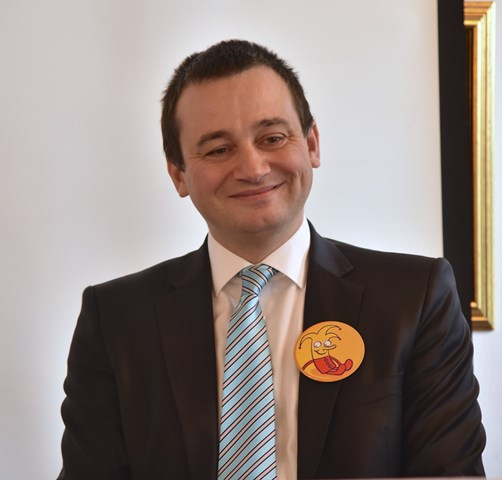 Na snímke generálny riaditeľ poistovňe Dôvera Martin Kultan