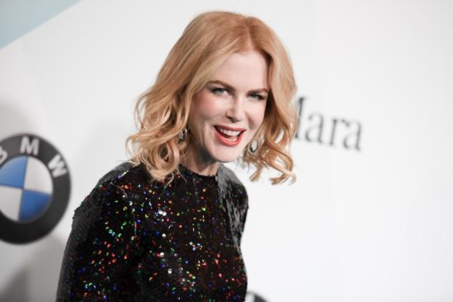 Na snímke austrálska herečka Nicole Kidmanová
