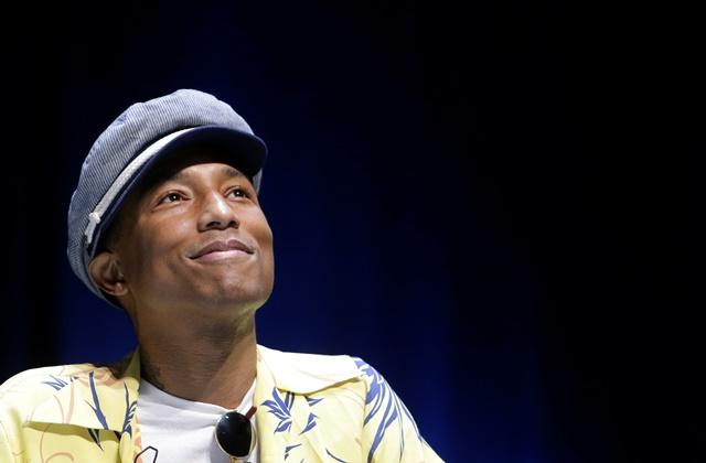 Americký skladateľ, rapper, spevák, producent a módny návrhár Pharrell Williams