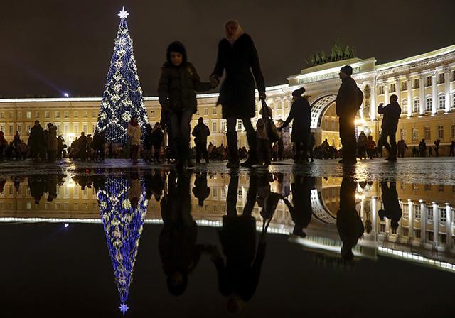Rusko Vianoce