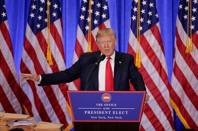 Na snímke Donald Trump