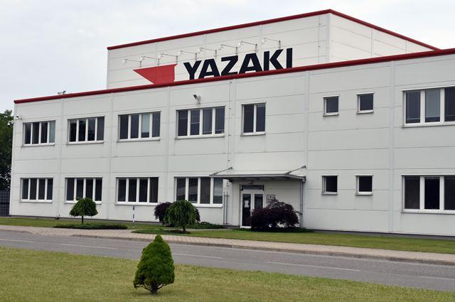 Na snímke budova spoločnosti Yazaki Wiring Technologies Slovakia