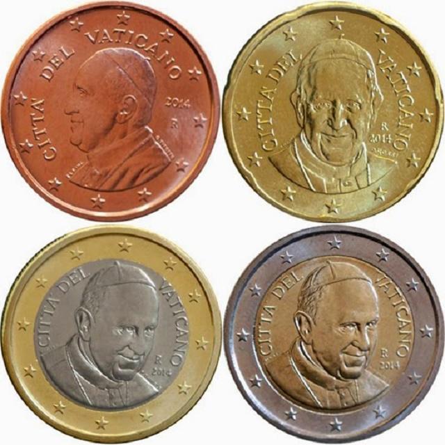 Pápež František na eurominciach
