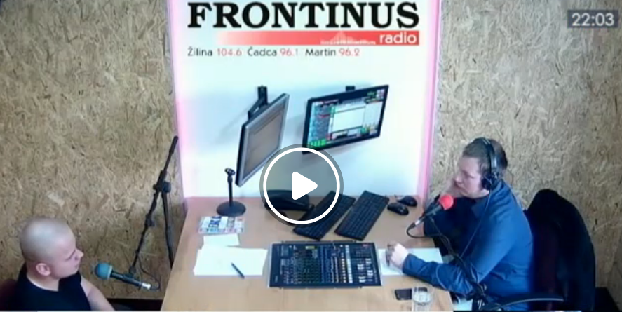 Poslanec Mazurek v rádiu Frontinus