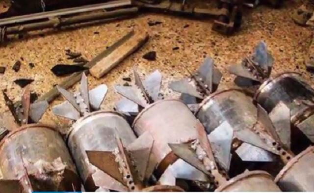 Iracké sily našli chemické látky a zbrane