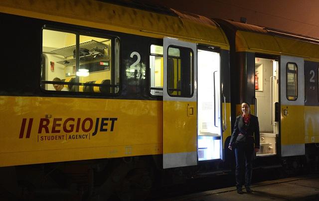 Vlak spoločnosti RegioJet