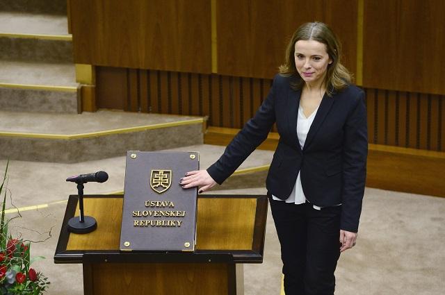 Na snímke Zuzana Šebová (SME RODINA)