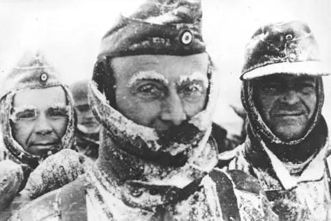 Vojaci wehrmachtu pod Moskvou