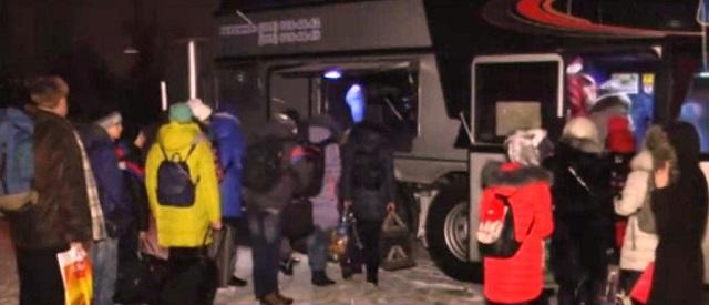 Prvá skupina detí z Luhanskej ľudovej republiky odišla na ozdravný a rekreačný pobyt do Moskovskej oblasti