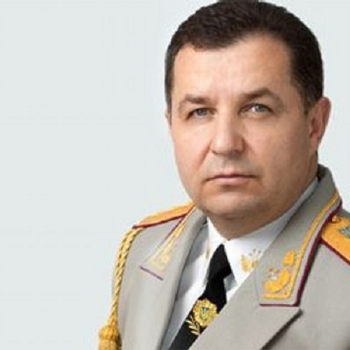 Stepan Poltorak, minister obrany Ukrajiny