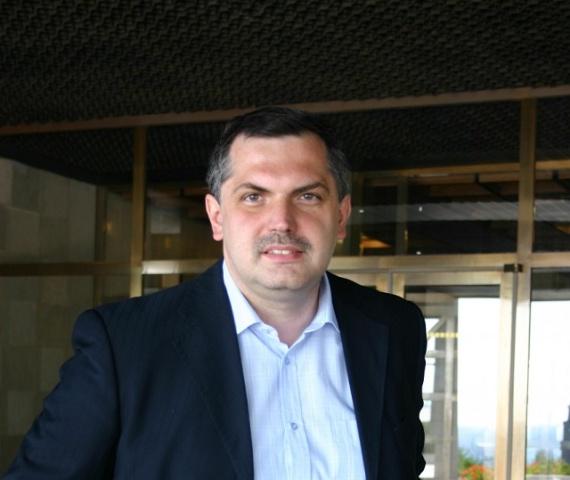 Na snímke politológ Roman Michelko Foto:Štefan Puškáš