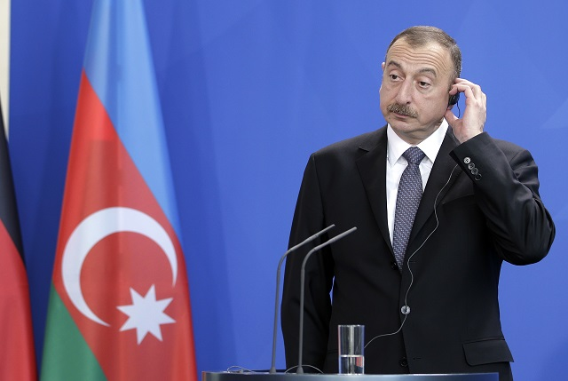 Azerbajdžanský prezident Ilham Alijev