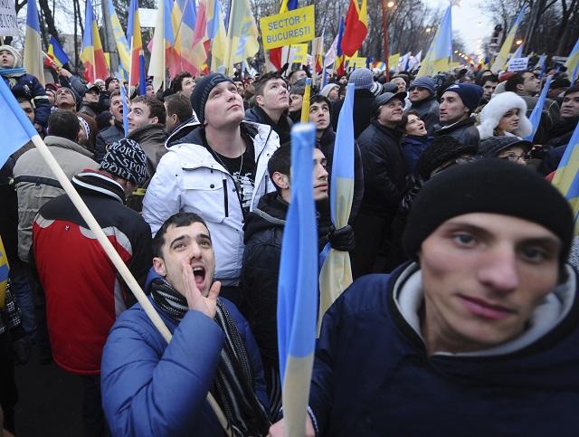 Proti rumunskej vláde protestovali rekordné počty ľud