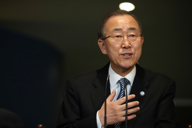 Bývalý  generálny tajomník OSN Pan Ki-mun