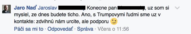 Komentár Jaroslava Naďa
