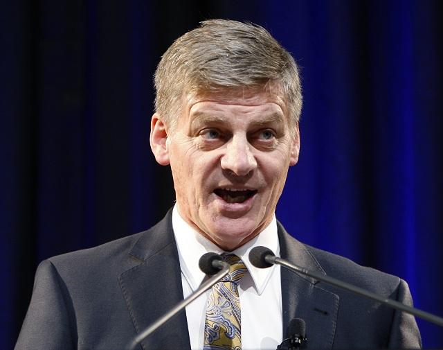 Novozélandský premiér Bill English
