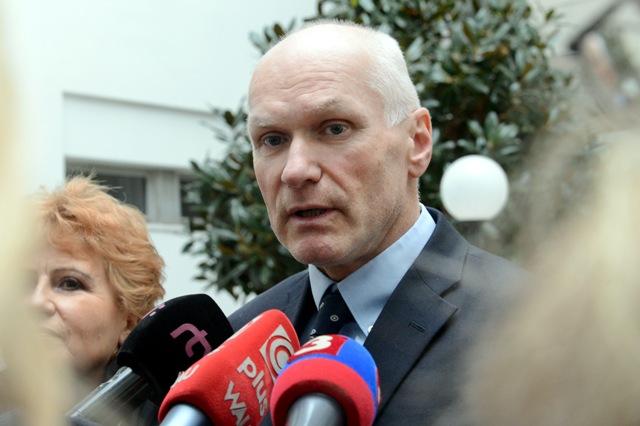 Na snímke prezident Slovenskej lekárskej komory SR Marian Kollár