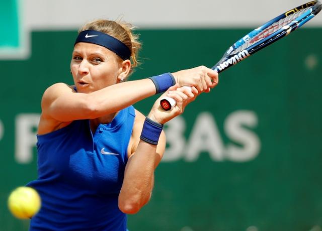 Na snímke česká tenistka Lucie Šafářová